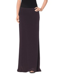 Patrizia Pepe Long Skirts Deep Purple