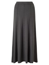 East Long Jersey Maxi Skirt Dove