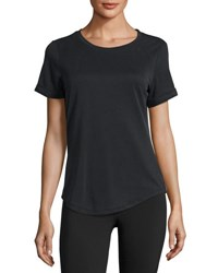 Michi Onda Open Back Sport Top Black