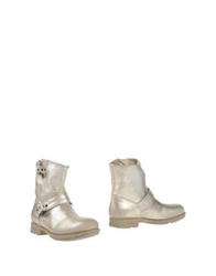 O.X.S. Ankle Boots Platinum