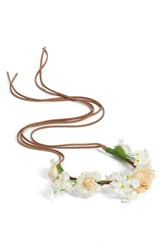 Collection Xiix Floral Headband Ivory