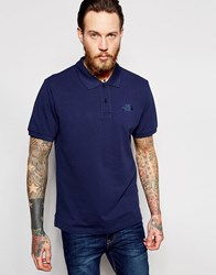 The North Face Polo Shirt With Logo Navy