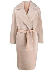 Blancha Belted Double Breasted Coat 60