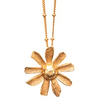 Gerard Yosca Daisy Pendant Necklace Gold