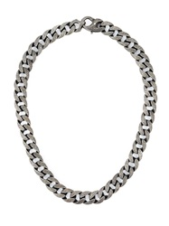 Stephen Webster Chunky Chain Necklace Metallic