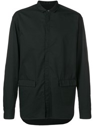 The Viridi Anne Button Up Shirt Black