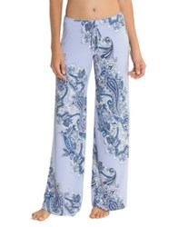 In Bloom Thyme Paisley Print Pants Blue