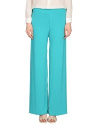 1 One Trousers Casual Trousers Women Turquoise