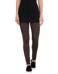 Twin Set Simona Barbieri Trousers Leggings Women Dark Brown