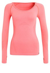 Hummel Eve Sports Shirt Fiery Coral Melange Pink