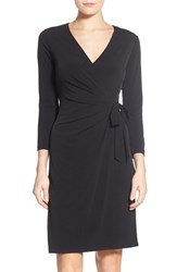 Anne Klein Women's Jersey Faux Wrap Dress