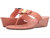 Cole Haan Tali Bow Sandal 40 Coral Haze Women's Sandals Red