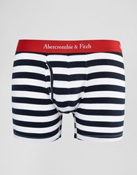 Abercrombie And Fitch Stripe Trunks Blue