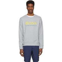 Boss Grey Logo Sweatshirt