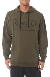 O'neill Combos Hoodie Military Green