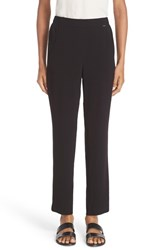 St. John Women's Collection Satin Back Crepe Pants