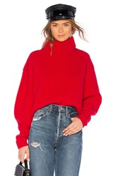 Lovers Friends Quin Sweater Red