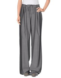 57 T Trousers Casual Trousers Women Grey