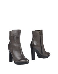 Janet And Janet Ankle Boots Grey
