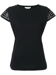 Alyx Studded T Shirt Cotton Leather M Black