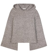 See By Chloe Mohair Blend Sweater Brown