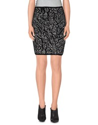 Surface To Air Skirts Knee Length Skirts Women Black