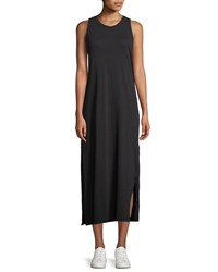 Current Elliott The Perfect Muscle Tee Maxi Dress Black