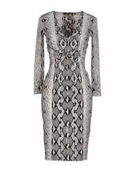 Roberto Cavalli Dresses Knee Length Dresses Women White