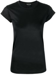Tom Ford Fitted T Shirt Black