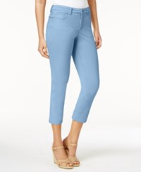 Charter Club Bristol Capri Jeans Only At Macy's Light Blue Air