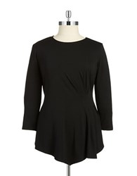 Vince Camuto Plus Plus Ruched Tunic