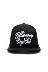 Billionaire Boys Club Script Snapback Black