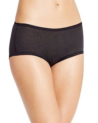 Fine Lines Pure Cotton Brief 13Rfb34 Black