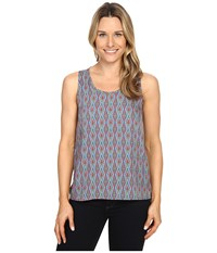 Mountain Khakis Emma Tank Top Midnight Blue Print Women's Sleeveless