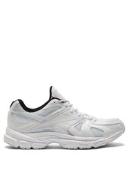 Vetements X Reebok Spike Runner 200 Low Top Trainers White