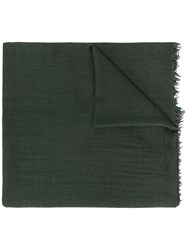 Rick Owens Cashmere Frayed Edge Scarf 60