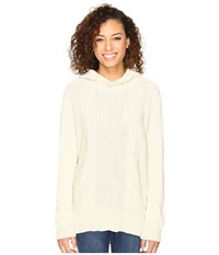 Hurley Cody Pullover Sweater Heather White Women's Sweater