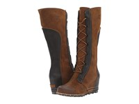 Sorel Cate The Great Wedge Elk Women's Dress Boots Brown