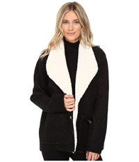 Sanctuary Brady Knit Jacket Black Women's Coat