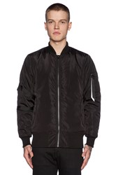 Stampd Strapped Bomber Jacket Black