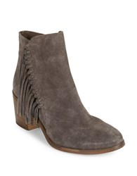 Kenneth Cole Reaction Rotini Suede Booties Taupe
