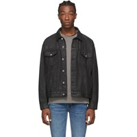 Ksubi Black Denim Oh G Jacket