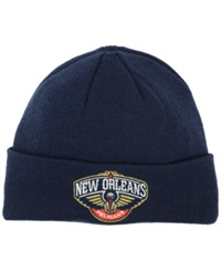 Adidas New Orleans Pelicans Cuff Knit Hat Navy