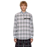 Burberry Blue Barron Casual Shirt