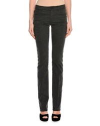 Tom Ford Washed Denim Boot Cut Jeans Gray