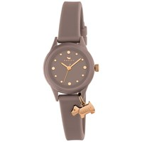 Radley Women's Watch It Silicone Strap Watch Taupe