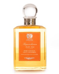Orange Blossom Lilac And Jasmine Bubble Bath 16 Oz. Antica Farmacista Orange Pink