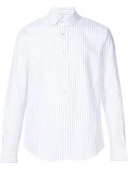 Carven Striped Shirt White