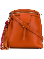 Tod's Thea Tote Bag Orange