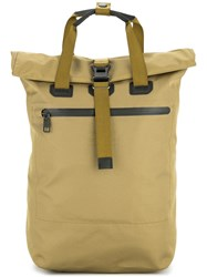 As2ov Square Backpack Brown
